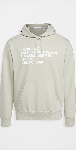 Helmut Lang - Recycled Pullover Hoodie