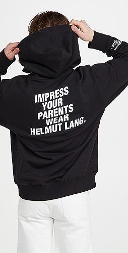 Helmut Lang - Impress Slogan Hoodie