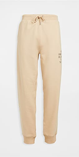 Helmut Lang - Older Slogan Sweatpants
