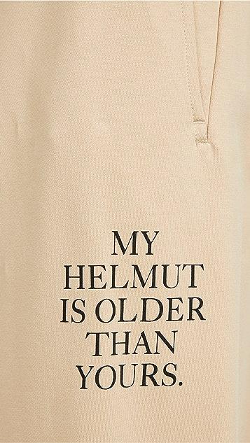 Helmut Lang Older Slogan Sweatpants