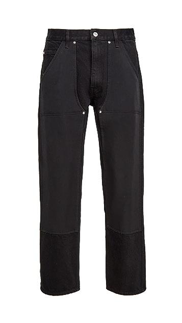 Helmut Lang Taper Utility Jeans