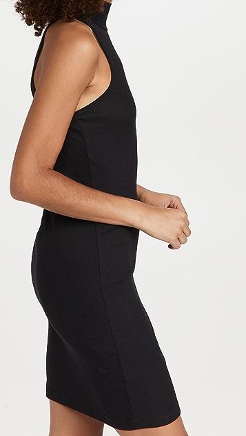 Helmut Lang Rib Cutout Dress