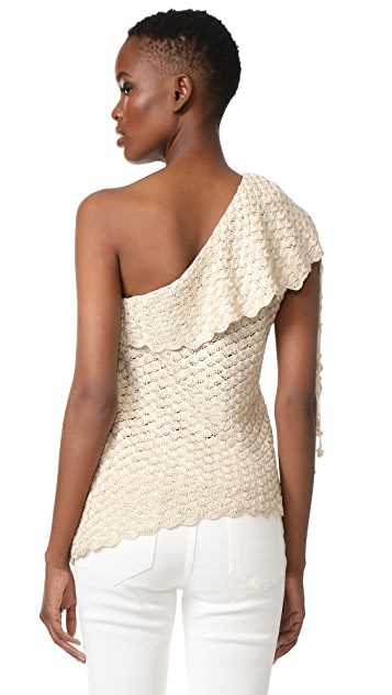 Hellessy Capri Knit One Shoulder