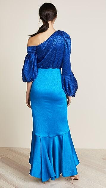 Hellessy Sigrid Asymmetric Dress