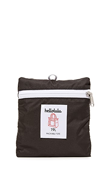 Hellolulu Macon Packable Tote