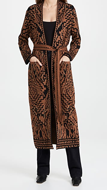 Hayley Menzies Cotton Jacquard Duster