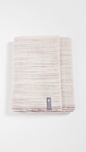 Halfmoon Yoga Melange Cotton Yoga Blanket
