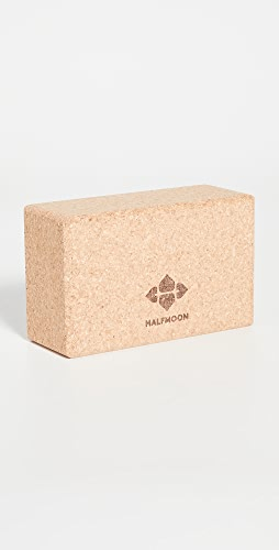 Halfmoon Yoga - Cork Yoga Block