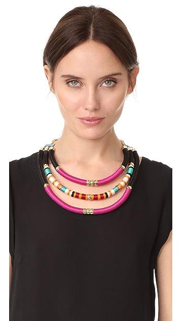 Holst + Lee Tribal Tri Strand Necklace