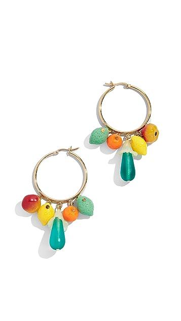 Holst + Lee Fruits of Paradise Earrings