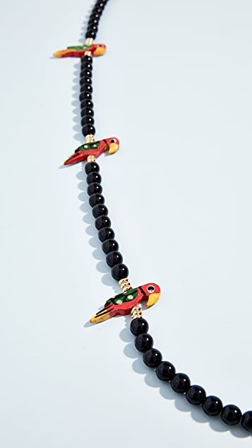 Holst + Lee Birds of Paradise Necklace