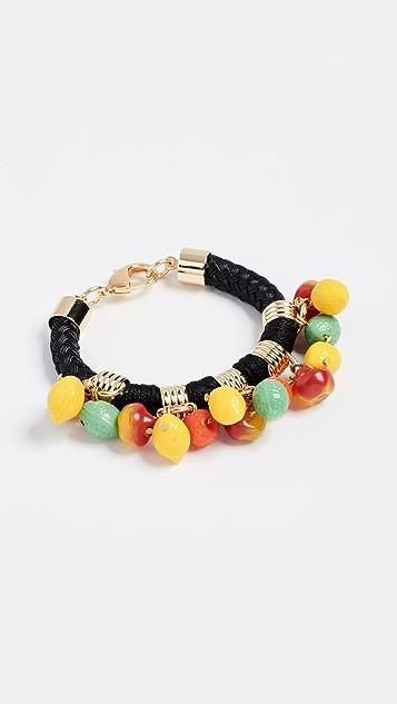 Holst + Lee Fruit Charm Bracelet