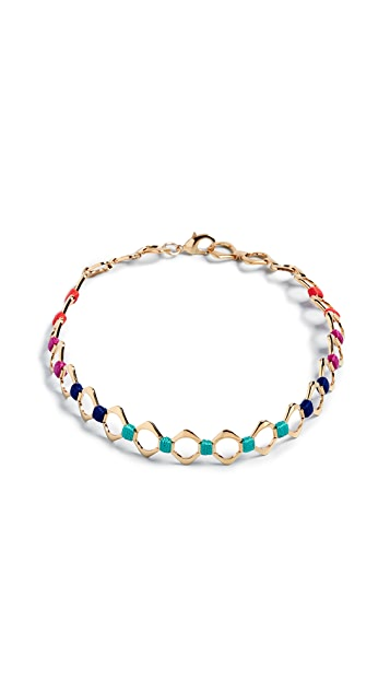 Holst + Lee Color Wheel Choker Necklace