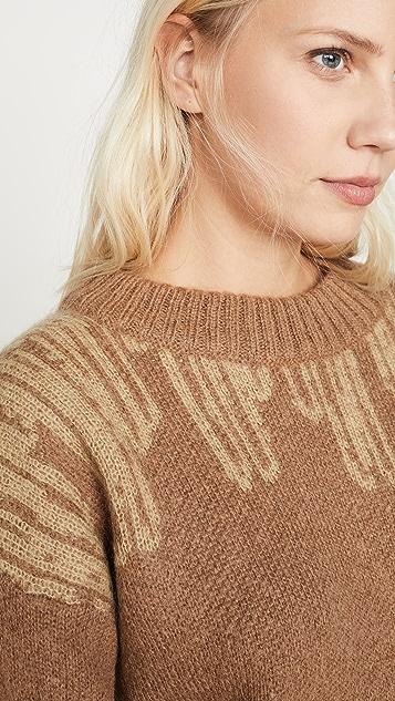 HOLZWEILER Wenge Alpaca Sweater