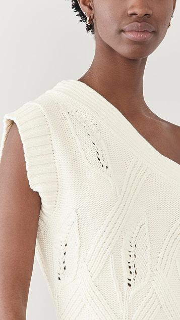 HOLZWEILER Beagle Knit Vest