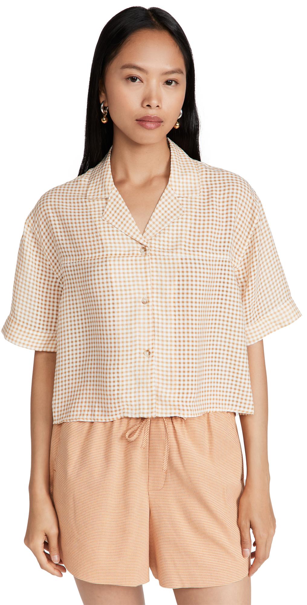 Edgar Cropped Shirt