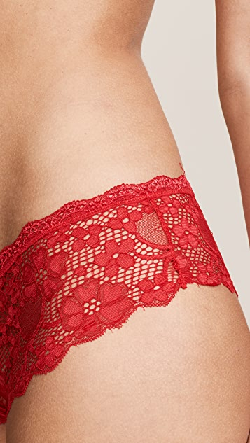 Honeydew Intimates Camellia Lace Hipster Briefs
