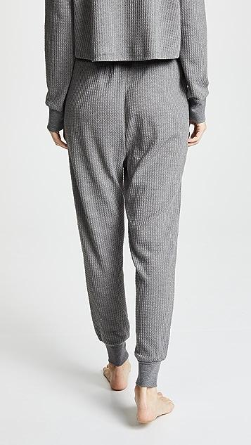 Honeydew Intimates Домашние брюки Sneak Peek из вафельного трикотажа