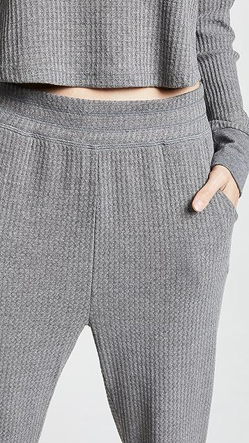 Honeydew Intimates Sneak Peek 华夫格针织居家裤