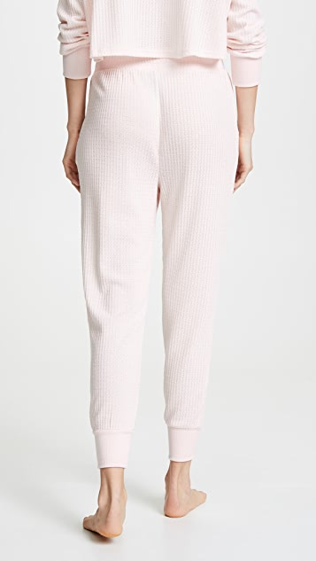 Honeydew Intimates Sneak Peek Waffle Knit Lounge Pants