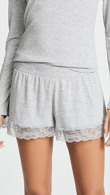 Honeydew Intimates Sheer Luck Shorts