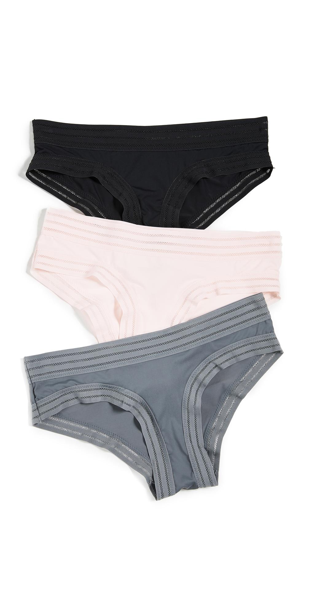 Honeydew Intimates Micki 3 Pack Hipster Panties