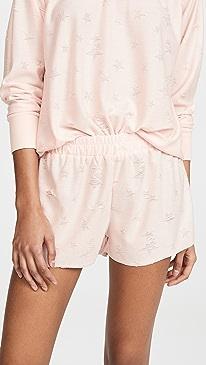 Starry Eyed Knit Shorts