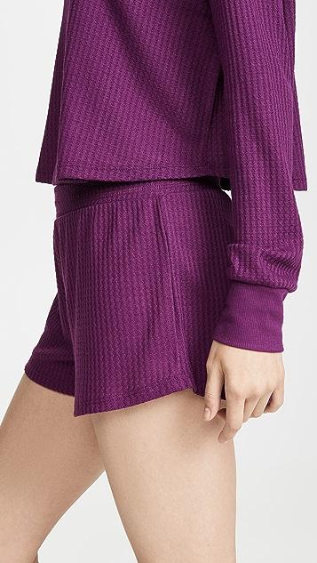 Honeydew Intimates Sneak Peek 华夫格针织居家短裤