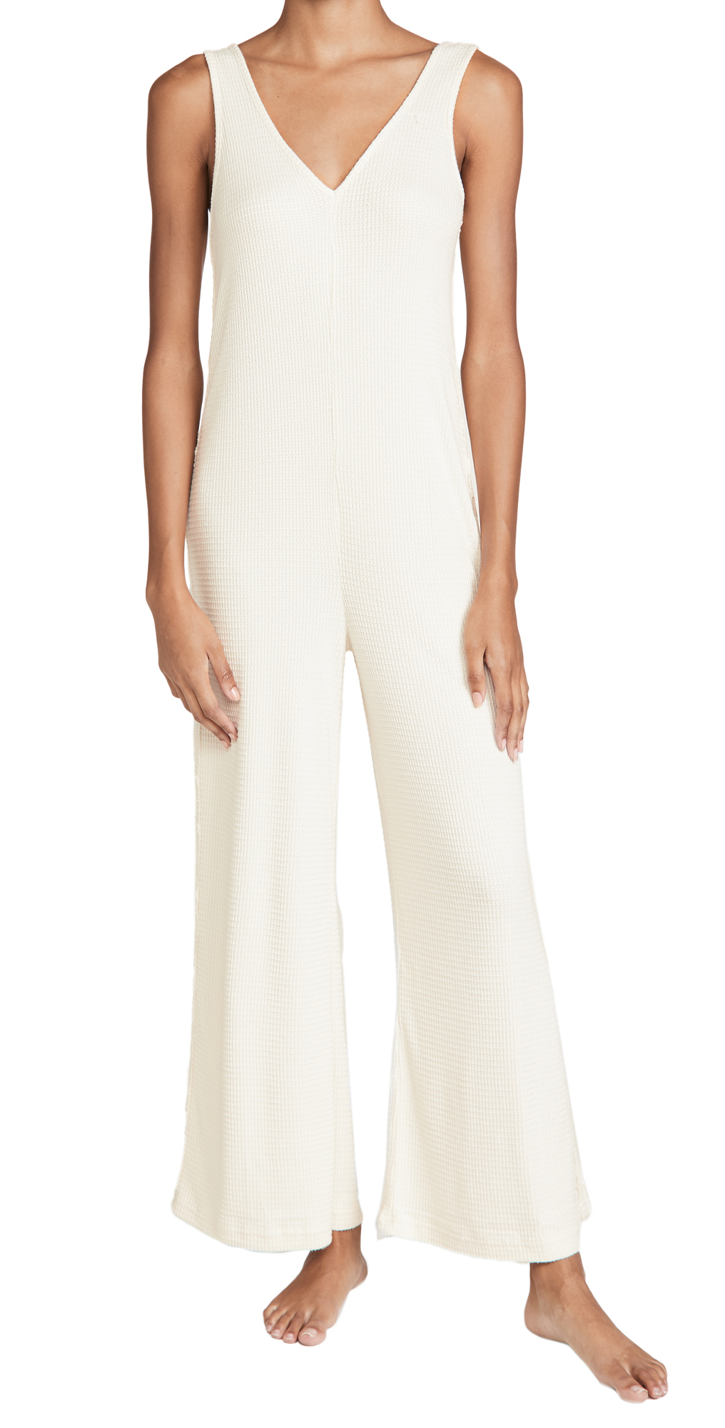 Honeydew Intimates Brushed Waffle Jumpsuit
