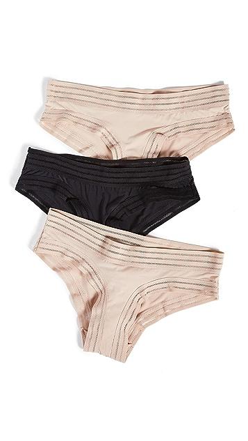 Honeydew Intimates Micki 低腰短裤 3 条装