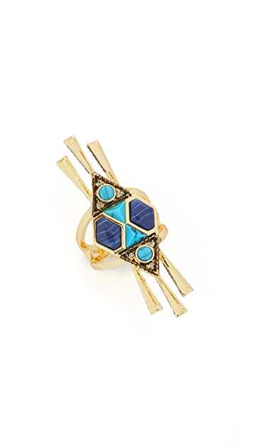 House of Harlow 1960 Statement Ring