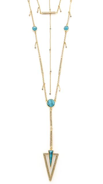 House of Harlow 1960 South Point Layered Necklace