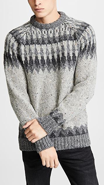 Howlin' Before The Snowfall Sweater