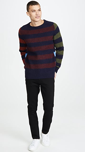 Howlin' Acid Journey Multi Stripe Sweater