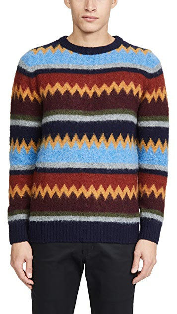 Howlin' Science Fiction Dance Party Sweater