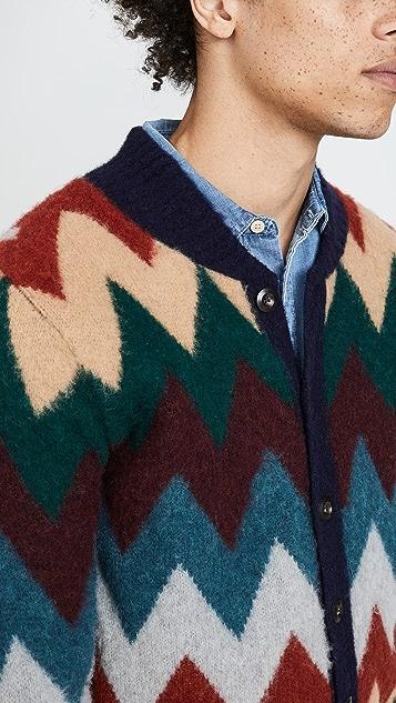 Howlin' Blue Magician Cardigan Sweater