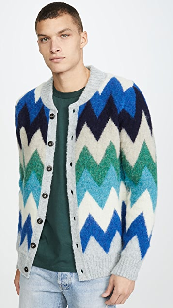 Howlin' The Blue Magician Cardigan Sweater