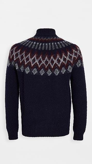 Howlin' Love On The Rocks Wool Turtleneck Sweater