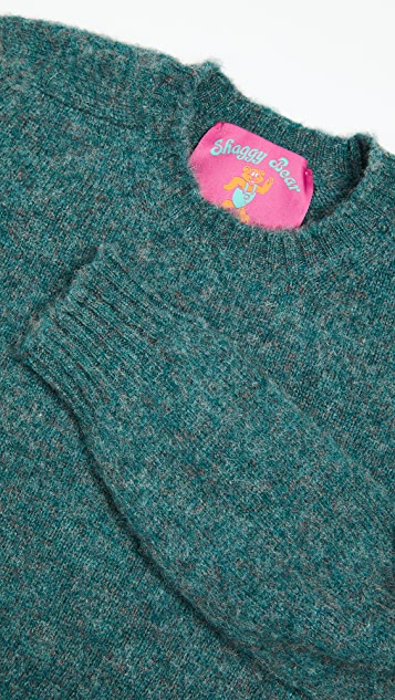 Howlin' Shaggy Bear Wool Sweater