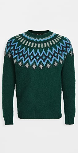 Howlin' - Future Fantasy Wool Fair Isle Sweater