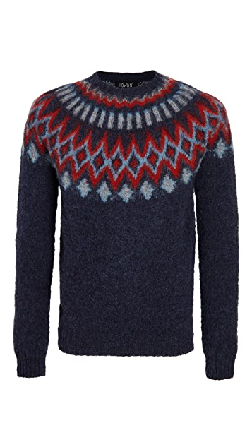 Howlin' Future Fantasy Wool Fair Isle Sweater