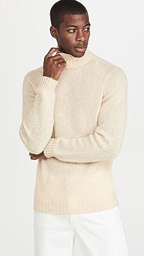 하울링 스웨터 Howlin' Sylvester Turtleneck Sweater,Ecru