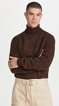 하울링 스웨터 Howlin' Sylvester Turtleneck Sweater,Brownish