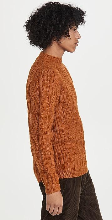 Howlin' Super Cult Aran Crewneck Sweater