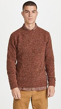 하울링 스웨터 Howlin' Crewneck Sweater,Reddish