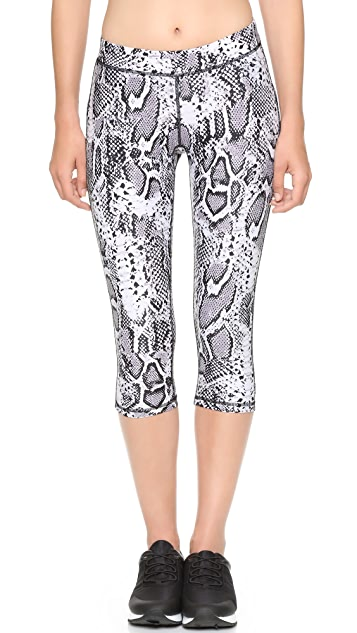 hpe Snake Capri Leggings