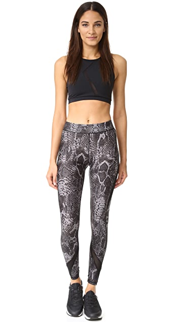 hpe Snake Print Leggings