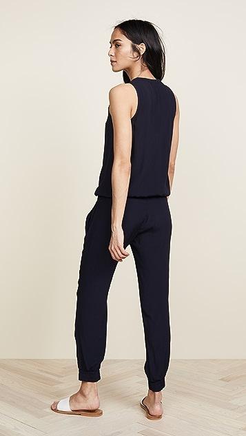 MONROW 绉绸基本款连身衣