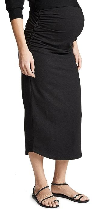MONROW Maternity Skirt - Black