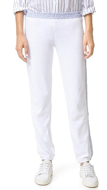 MONROW Stripe Sweatpants